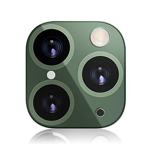 Volwco - Protector de lente HD para iPhone X/XS/XS Max/XR, lente de cristal templado ultrafino para iPhone X para cambiar a iPhone 11 Pro/11 Pro Max, alta definición y protector de cámara antiarañazos