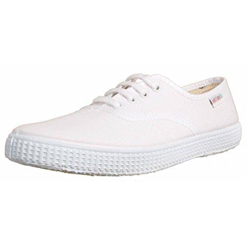 Victoria Inglesa Lona 6613, Zapatillas de Tela Unisex, Blanco (20 Blanco), 38
