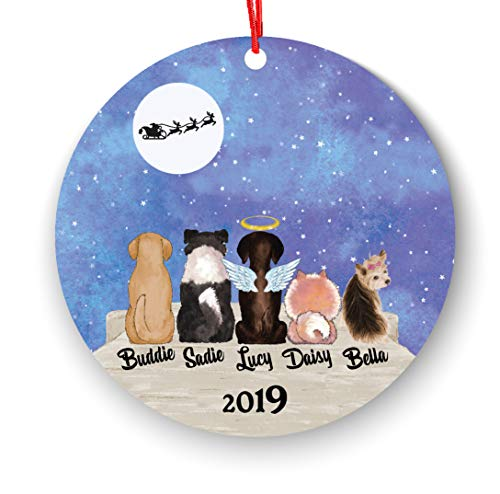 ACP-Ornaments Personalized Dog Christmas Ornament