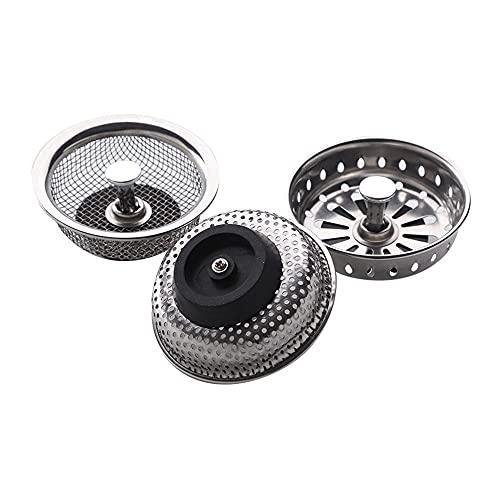 Fregadero de la cocina antigua Filtro de platos para lavavajillas Filtro/lavavajillas Filtro de drenaje de lavamanos/drenaje de piso-Ancho