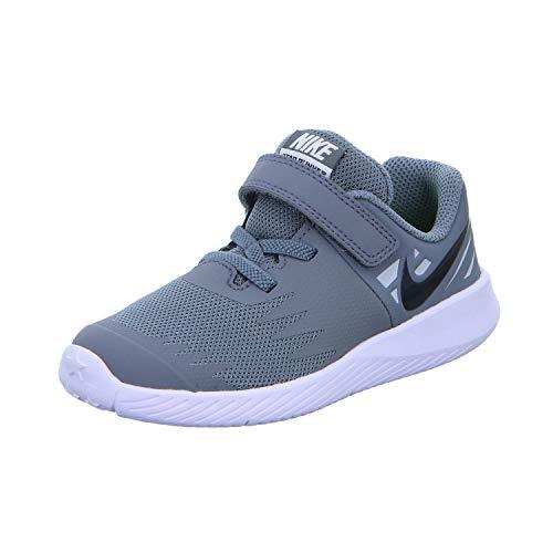 Nike Star Runner (TDV), Zapatillas para Bebés, Multicolor (Cool Grey/Black/Volt/Wolf Grey 006), 21...