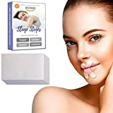 Decemen Sleep Strips, 120 Pcs Anti Snore Mouth Tape Self Adhesive for Snoring Relief and Sleeping Quality Improvement
