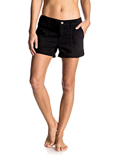 Roxy Memory Short Femme, Anthracite, FR : S (Taille Fabricant : S)