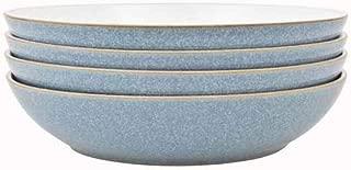 Denby Elements 4 Piece Pasta Bowl Set, Blue