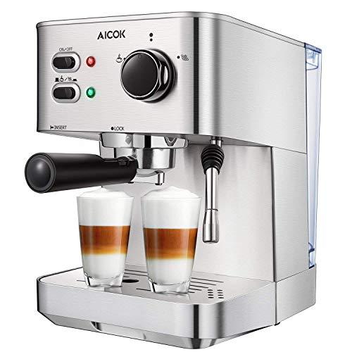 Aicok Espresso Machine, 15 Bar E...