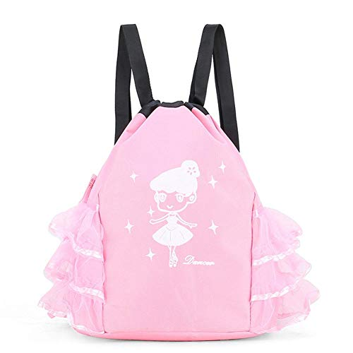 Cineman Balletrugzak, ballettas voor meisjes, schooljurk voor rok, tassen van kant, roze