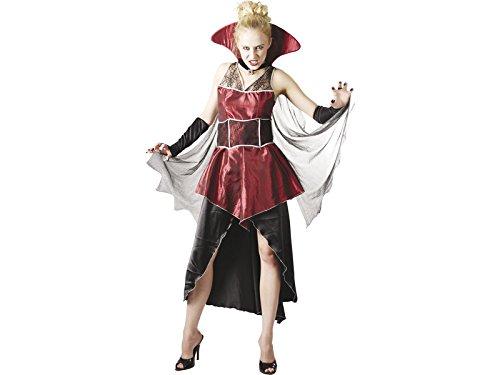 DISONIL Disfraz Condesa Dracula Mujer Talla XL