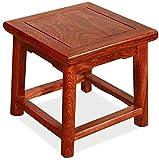 CWT-sofa Muebles Antiguo Pequeño Taburete Muebles de Caoba Pequeño Banco de Taburete de Zapatos de Zapatos