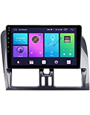QBWZ Android 10.0 Car Stereo Double DIN Head Unit para Volvo XC60 2008-2017 Navegación GPS Pantalla táctil de 9 Pulgadas Reproductor Multimedia MP5 Receptor de Video y Radio con 4G DSP Carplay