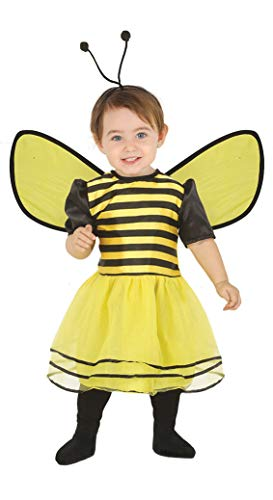 Guirca Bienen Baby Kostüm - Größe 74-92 - Hummel Wespe Fasching Karneval, Größe:86/92