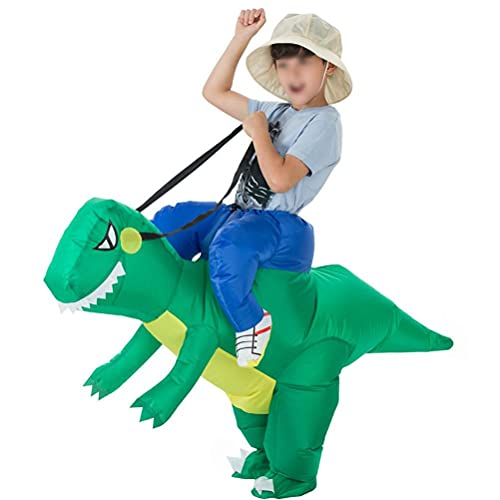 Mallalah Costume Dinosaure Adulte et Enfant Inflatable Performance Tyrannosaurus Gonflable Costume Cosplay