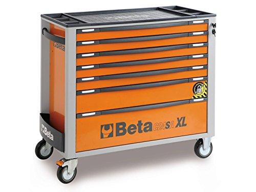 Beta C 24 SA 7 XLO Werkstattwagen Werkzeugwagen 7 Schubladen Werkzeugschrank