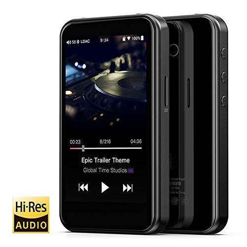 MP3-Player, hochauflösende Bluetooth-HiFi-Musik Tragbarer USB-DAC ES9018Q2C-basiertes Android mit Aptx HD LDAC WiFi Air Play DSD