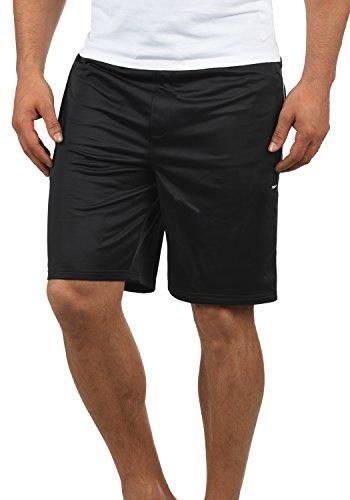 !Solid Leando Herren Sweatshorts Kurze Hose Jogginghose Mit Kordelzug Stretch Regular Fit, Größe:M, Farbe:Black (9000)