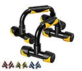 Readaeer Maniglie per Flessioni e Push up Bar (Giallo)