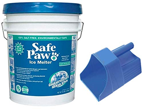 Why Choose Safe Paw Ice Melter 35lb Pail (35lb – Pail w/Scoop)