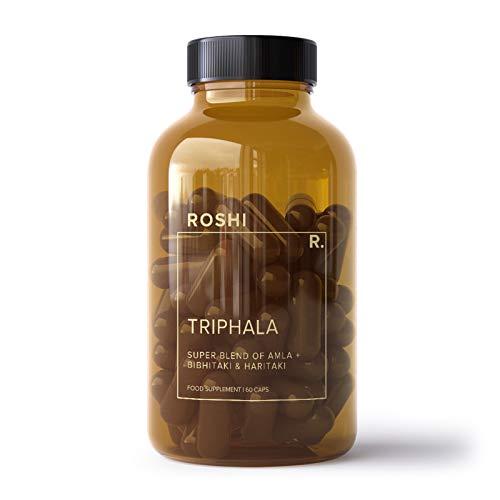 Roshi Triphala | Super Blend of Amla, Bibhitaki & Haritaki | for Digestive Health | 60 Capsules