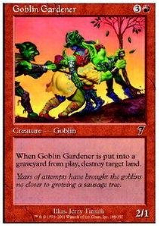 Magic  the Gathering  Goblin Gardener  Seventh Edition