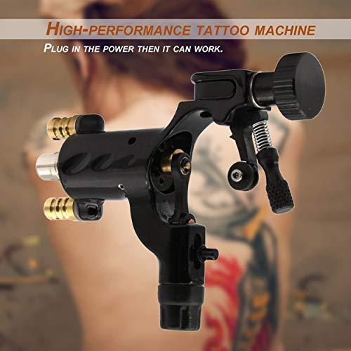 Lorenlli Dragonfly Máquina rotatoria para tatuar Shader profesional y trazador de líneas Motor eléctrico clasificado para el arte corporal