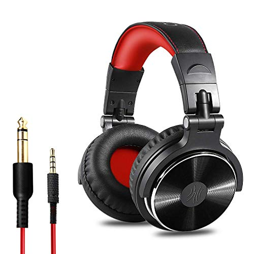 OneOdio Over Ear Headphones, Wired Bass Headsets 50mm Driver, Foldable...