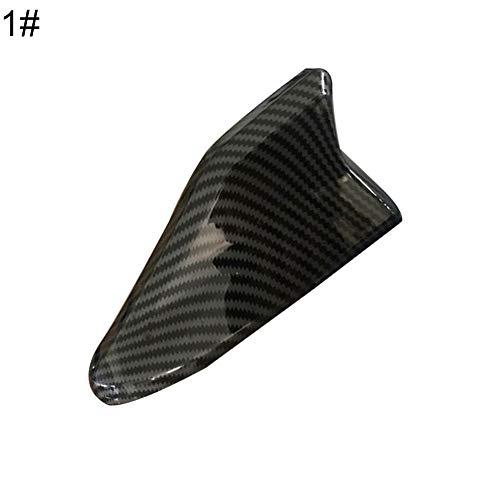 YUSHHO56T Auto-Antenne Haifischflosse, Außendekoration, Auto-Antenne, modisch, wasserdicht, Haifischflossen-Antenne, Auto-Dach, starkes Signal Radio Antennen, Weiß 1#