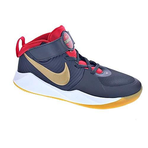Nike Zapatillas Team Hustle D 9 (PS) Código AQ4225-011 Gris Size: 31 EU