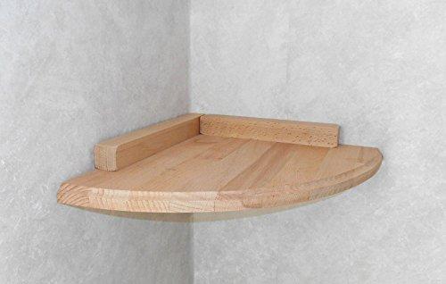 Katzen Wandpark, handgefertigte Tiermöbel / Luxusmöbel, Katzenmöbel in vielen Ausführungen, Kratzbaum / Katzenbaum für die Wand. Hier: Eckbrett 30 x 30 cm (12W00)