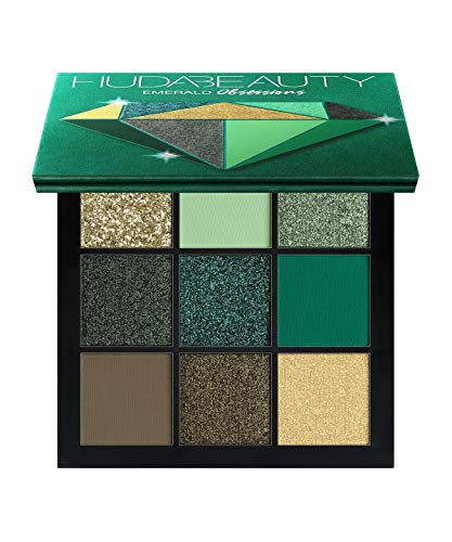 Huda Beauty Obsessions Emerald Eyeshadow Palette