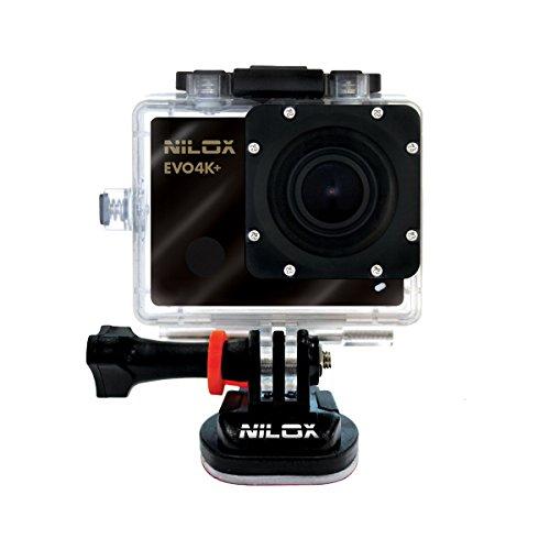 Nilox Action Cam Evo 4K+, Nero