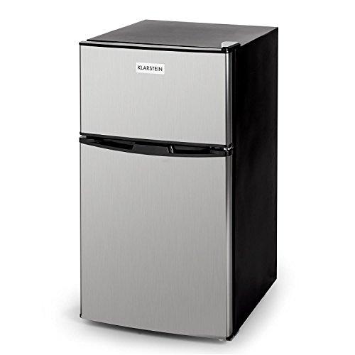 Klarstein Big Daddy Cool - Nevera con Congelador, 61 Litros, Minibar, Congelador...