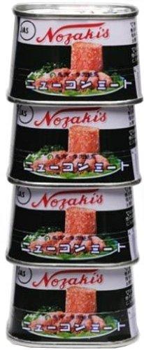 ノザキ ニューコンミート 4缶シュリンク 100gX4 [2046]