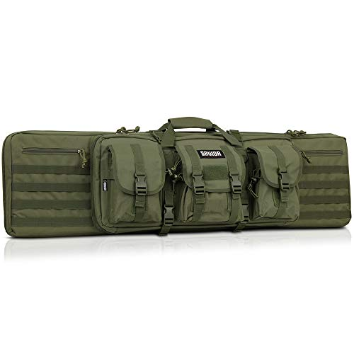 Savior Equipment American Classic Tactical Double Long Rifle Pistol Gun Bag Firearm Transportation...