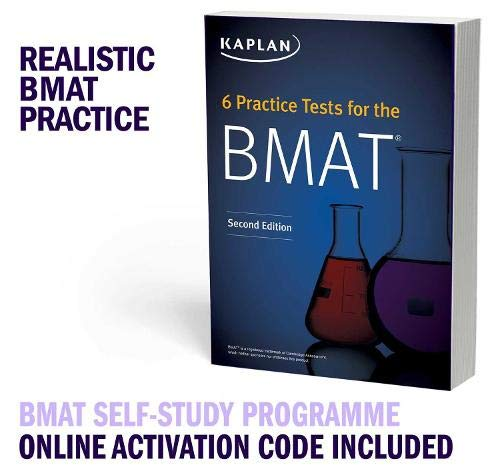 BMAT Complete Self-Study Programme: 6 Practice Tests for the BMAT Book + Qbank + Video