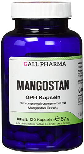 Gall Pharma Mangostan GPH Kapseln, 120 Kapseln