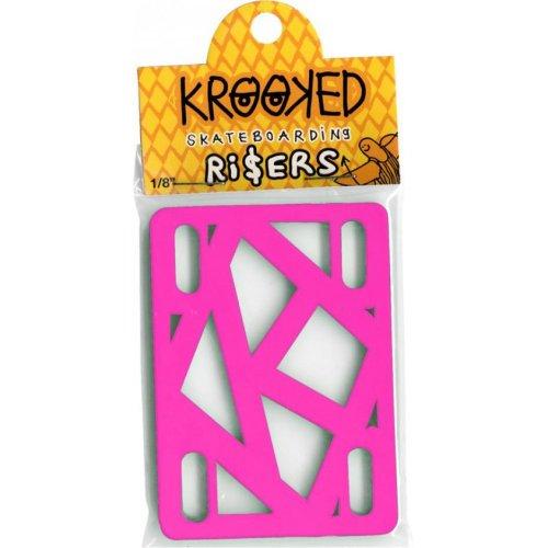 KROOKED (JEU DE 2) PINK 0.125 POUCE PADS