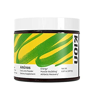 Kion Aminos Essential Amino Acids Powder Supplement   The Building Blocks for Muscle Recovery, Reduced Cravings, Better Cognition, Immunity, and More   30 Servings