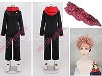 cosplay 呪術廻戦 虎杖悠仁 コスプレ衣装+靴+ ウィッグ +道具小物風