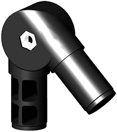 Winkel- Gelenkverbinder für 30x2mm Rundrohr, 0-180°