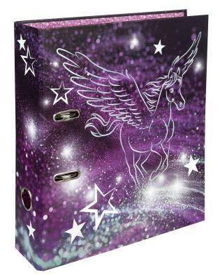 Undercover Ordner A4 8cm mit Motiv Pegasus, Hebemechanismus