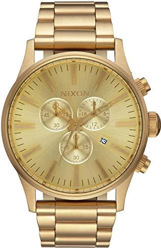 Nixon Armbanduhr Sentry Chrono All Gold