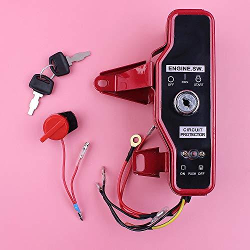 HAOHAO De Encendido del Interruptor de paro Caja de Control con Claves Kit for Honda GX200 GX160 6.5HP 5.5HP GX 200 160 4-Stroke pequeña Parte del Motor del Motor