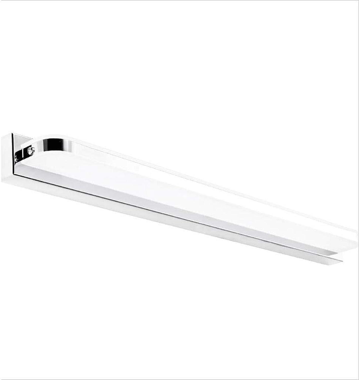 YWJ Spiegel Frontleuchten Led wasserdichte Nebel Bad Badezimmerspiegel Lampe Wandleuchte Europischen Einfache Moderne Spiegel Kabinett Lichter Led Lichter (gre   10w45cm)