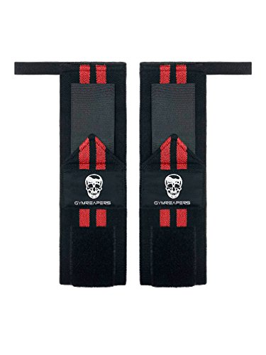 Gymreapers Weightlifting Wrist Wraps (Competition Grade) 18