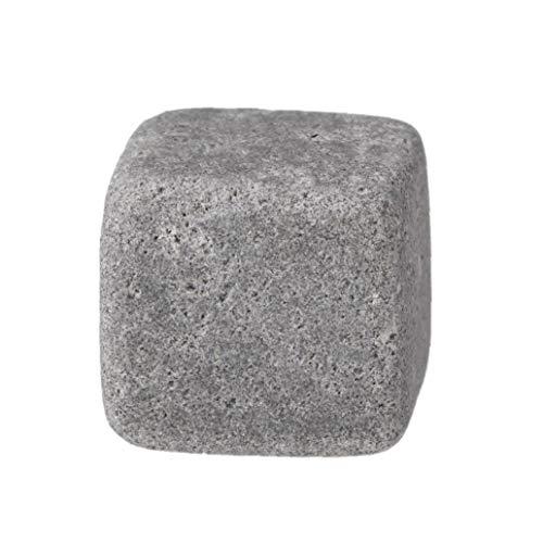 Romote 8pcs Whisky-Steine ??umweltfreundlicher Granit Eiswürfel Whisky-Steine ??Eiswürfel Rock Handcrafted Granit Getränke Chilling Cubes - 3