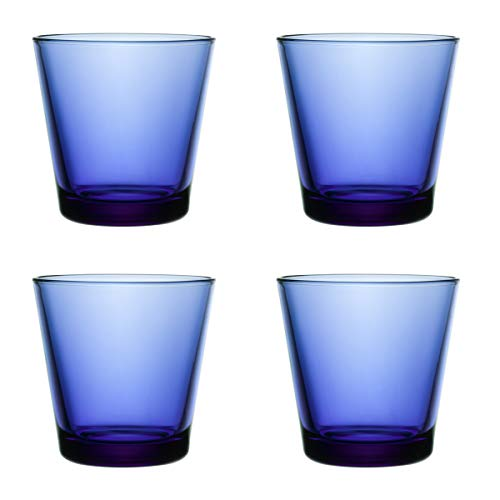 Preisvergleich Produktbild Iittala - Kartio Becher - 21cl - ultramarinblau 4 er Set