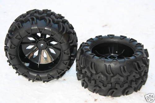 XT-Racing Monster Truck RÄDER Reifen 1:5 1:6 FG Carson REELY Carbon Breaker GRAUPNER MT6