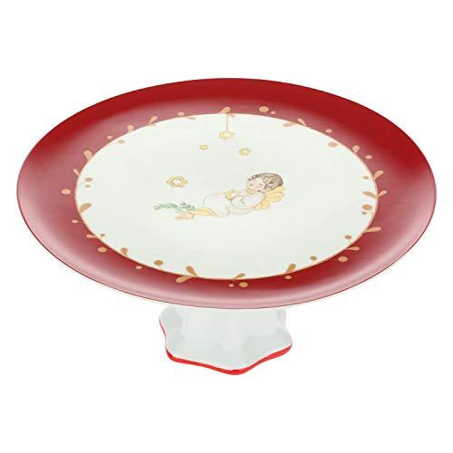 THUN ® - Alzata Grande - Linea Dolce Natale - Porcellana - Ø 27,5 Cm