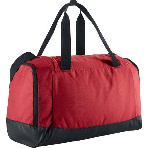 Nike Club Team Duffel - Bolsa de deporte para hombre, talla 40 x 23 x 27 cm, color rojo