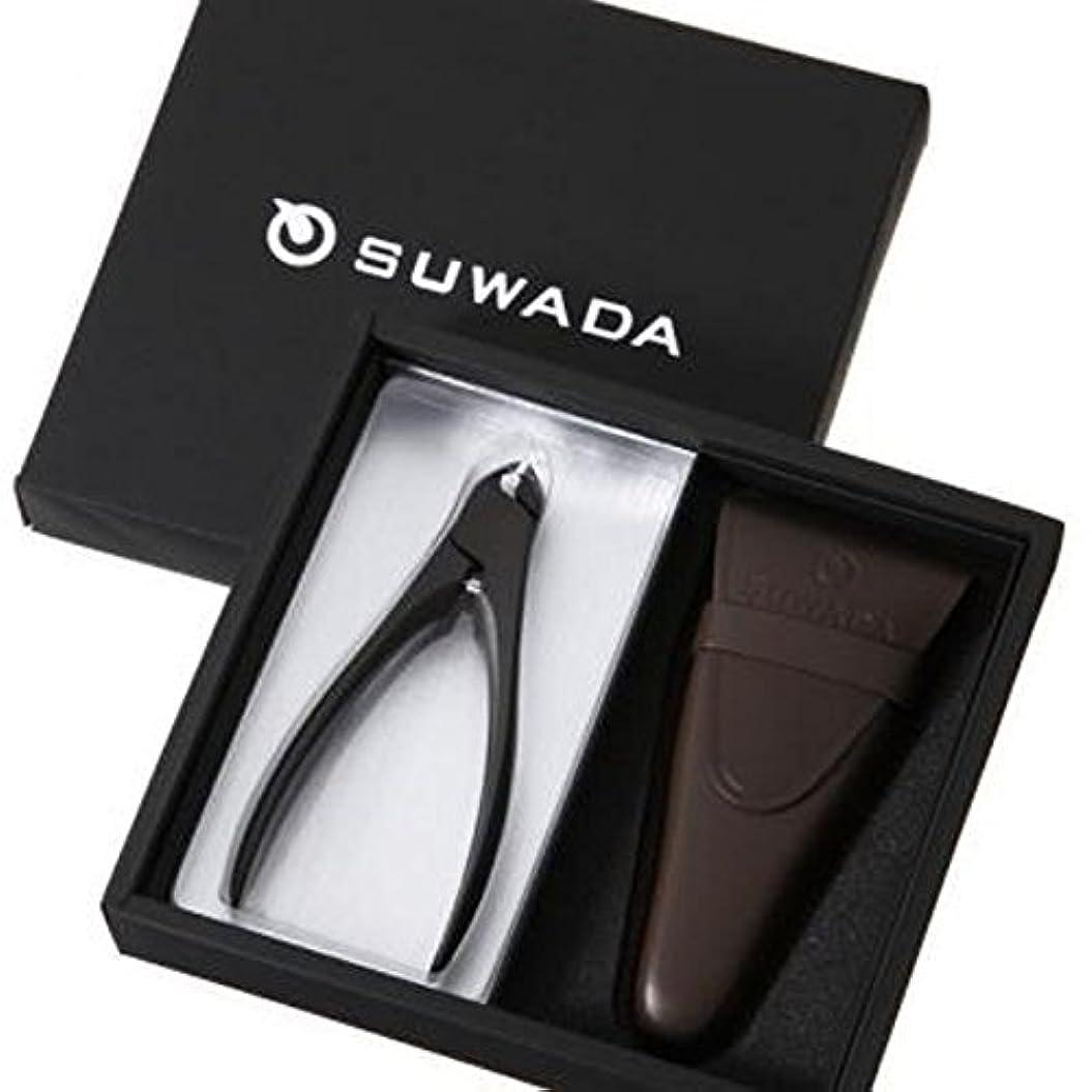 もちろんリーン赤字SUWADA スワダ つめ切り ギフトボックス CLASSIC 黒仕上げ(L) 革ケース付き (ギフト箱入りセット)