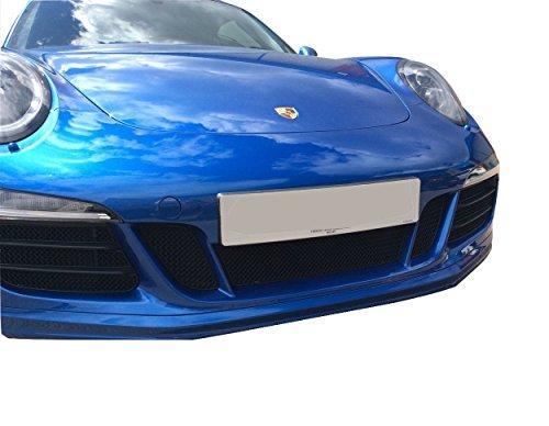 Zunsport Compatible avec Porsche 991.1 GTS - Ensemble calandre intégral (avec capteurs de stationnement) - Finition Argent (2015-2016)